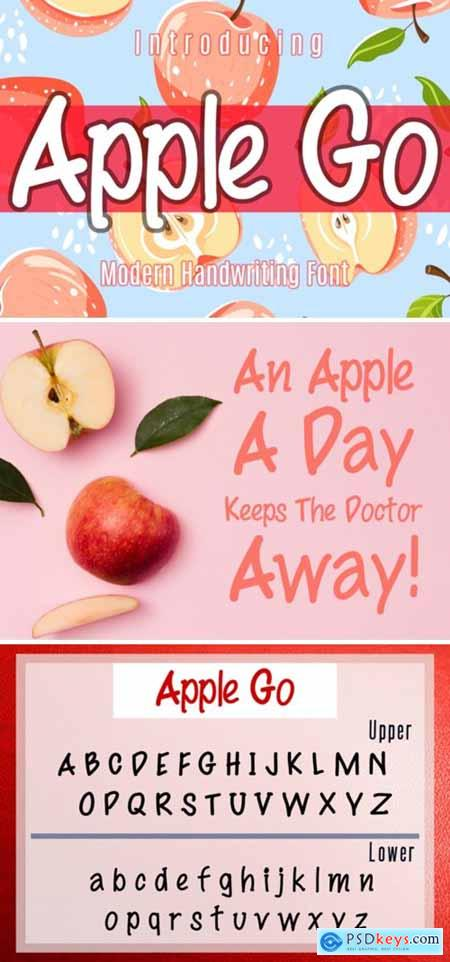Apple Go Font