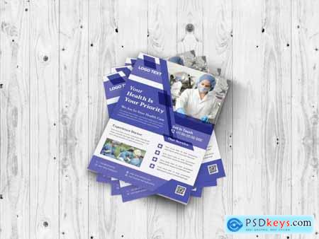 Creative Health Care Flyer Template 4955962