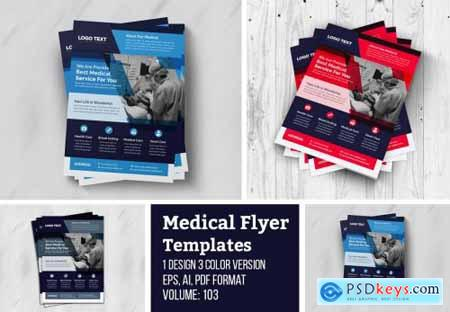 Creative Medical Flyer Template 4956033