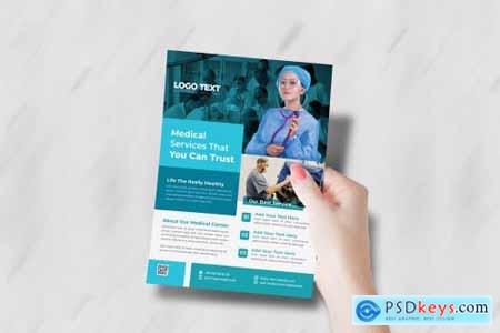 Creative Medical Health Care Flyer 4955935