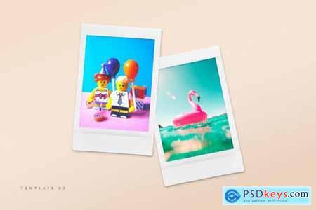 Polaroid Snapshot Picture Templates 5005460