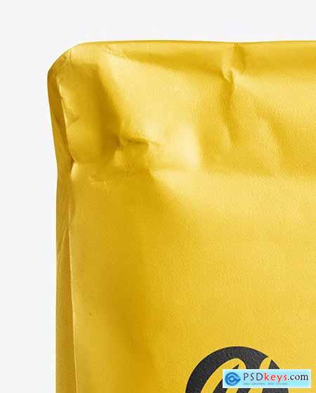 Paper Flour Bag Mockup - Front View 61238