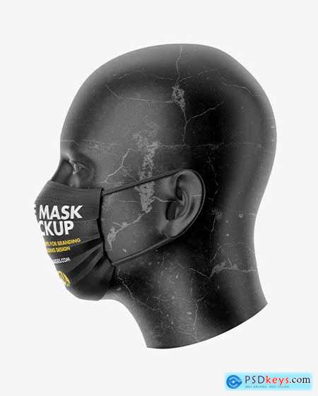 Face Mask Mockup 61129