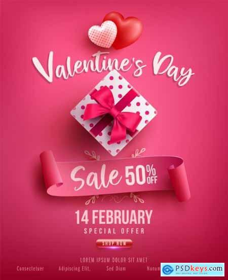 Valentines day sale poster781