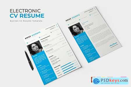 Electronic - CV & Resume