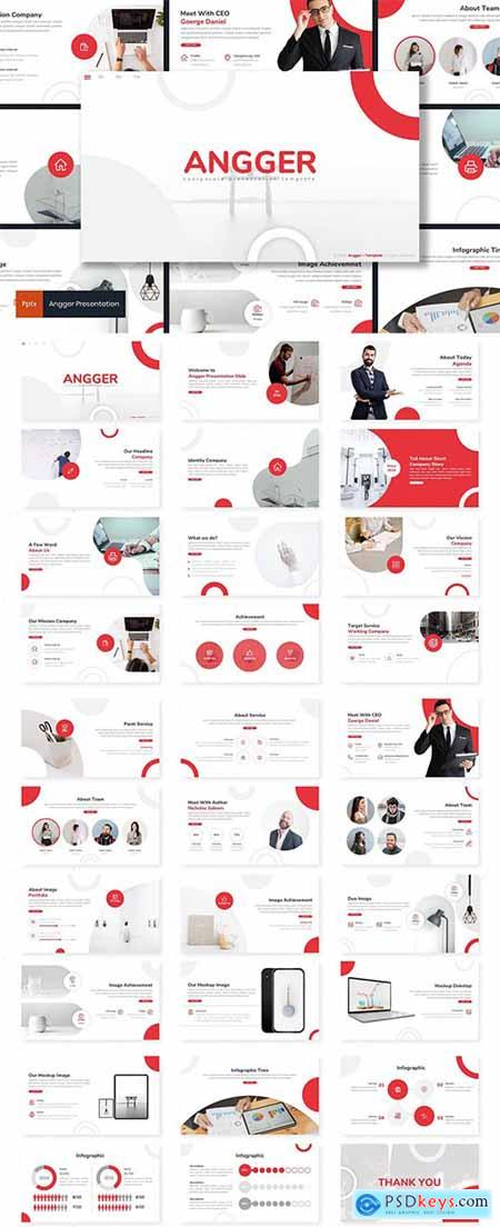Angger - PowerPoint, Keynote, Google Slides Templates
