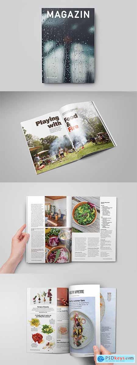 Magazine - Catalog - Booklet Mock-Up