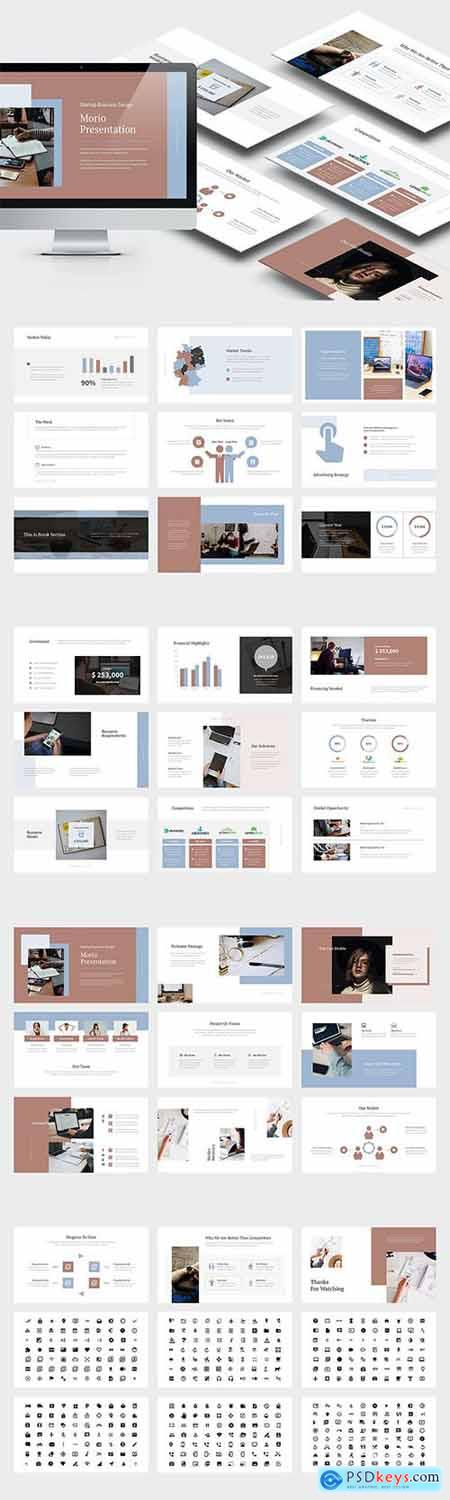 Morio - Startup Investor Relations Powerpoint and Keynote