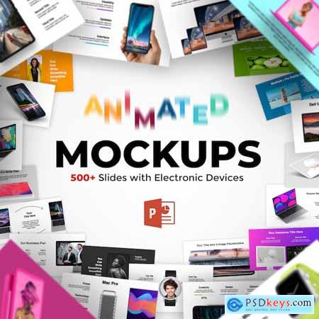 2 in 1 600+ Animated Mockups & Diagrams Infographics PowerPoint Presentation 25980785