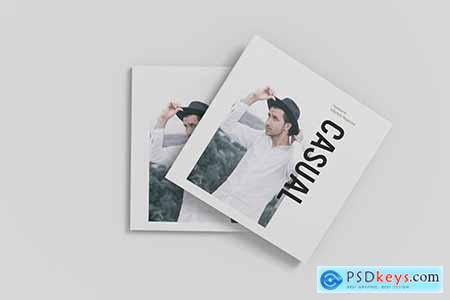 Square Magazine Mockup V4