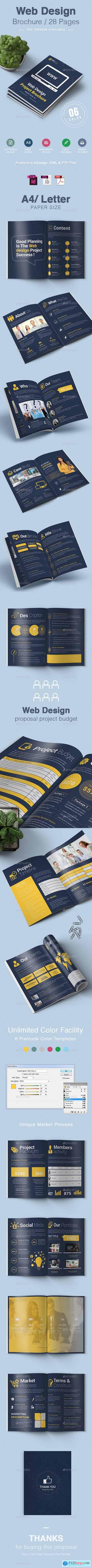 Web Design Brochure 26531500