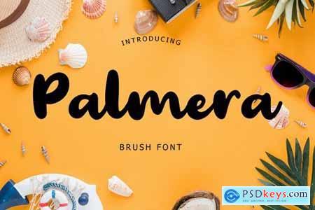Palmera Brush Font