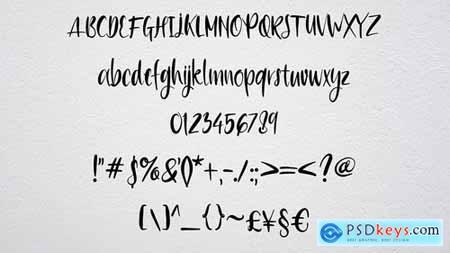 Pichola - Handwritten Font