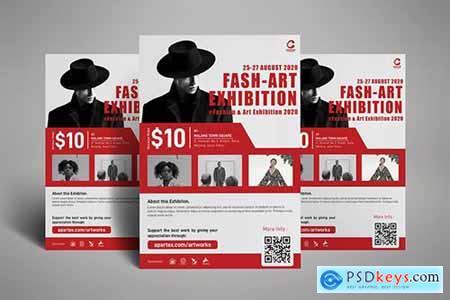 Fashion Art Exhibition Poster Flyer
