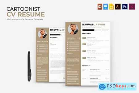 Cartoonist - CV & Resume