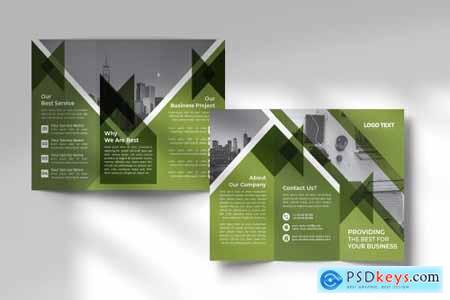 Business Tri-fold Brochures Design 4664107