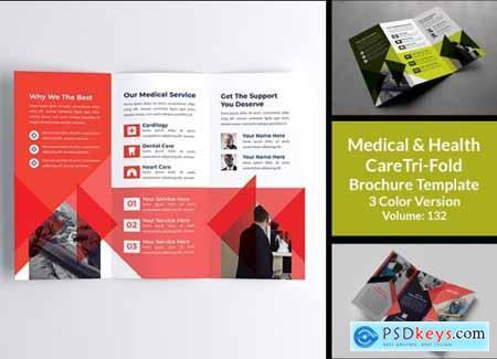 Medical & Health Care Tri Fold 4654227