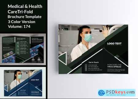 Medical Healthcare Trifold Brochure 4832232