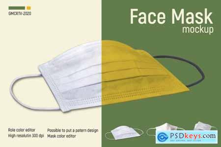 Face Mask Mockup Vr2 5003958
