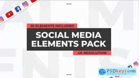 Social Media Elements Pack Premiere Pro 27008356