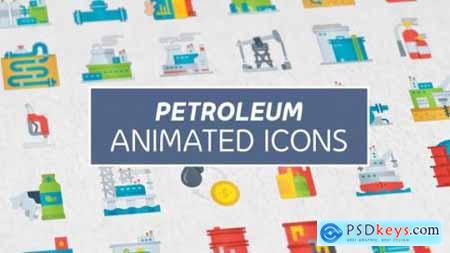 Petroleum Modern Flat Animated Icons 26850921