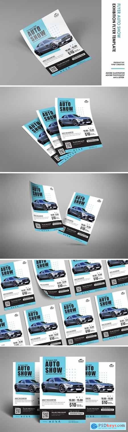 Auto Show - Car Exhibition Poster Flyer