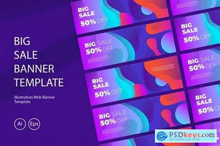 Big Sale Banner Template