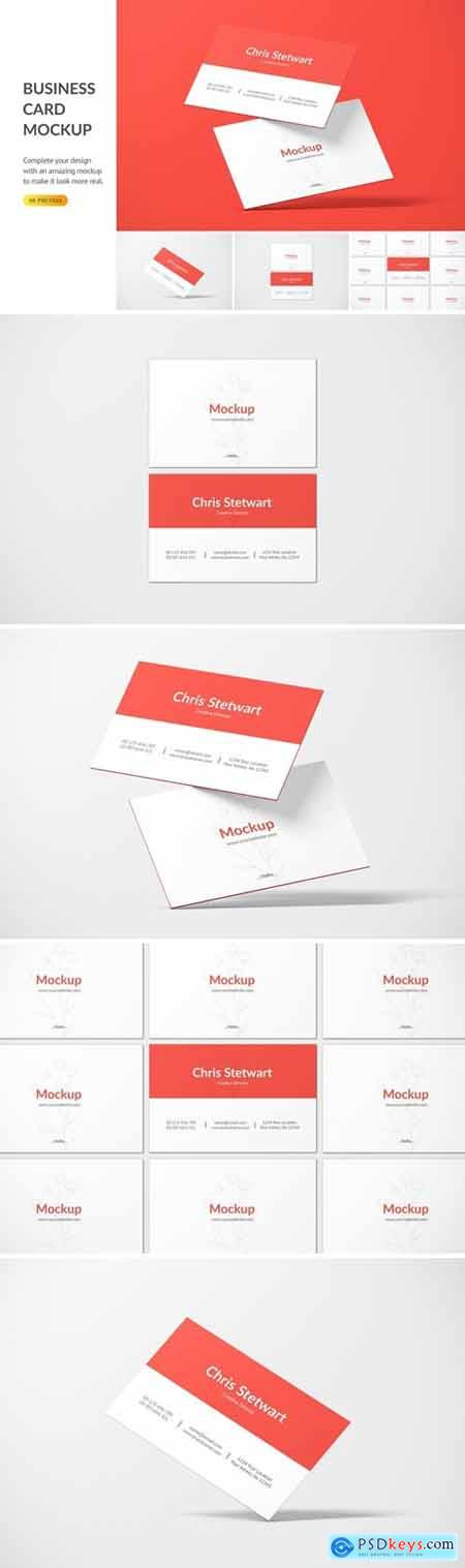 Business Card Mockup DHPNNPL