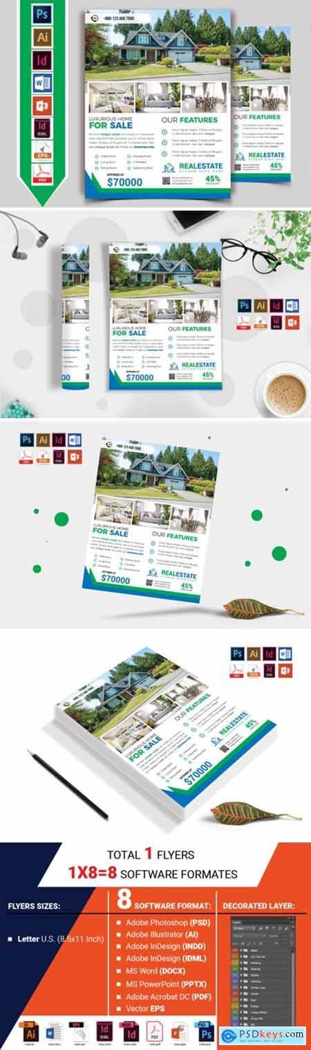 Real Estate Flyer Template Vol-10 4264550