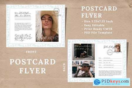 Vintage Postcard Flyer Vol 04