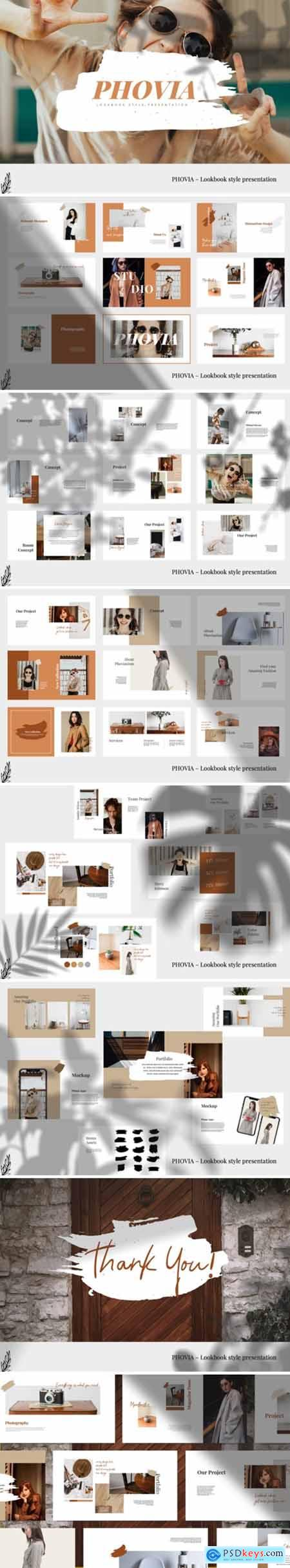 Phovia - Lookbook Style Powerpoint 4264856
