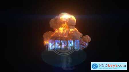 Explosion Glitch Logo 26977426