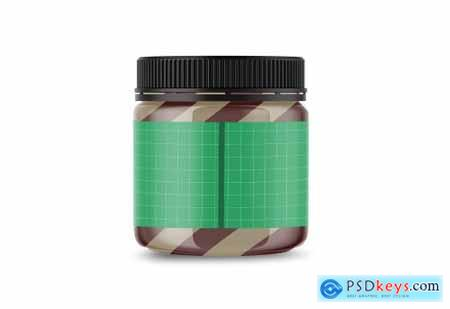 Duo Swirl Chocolate Spread Mockup 5004773