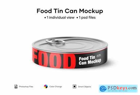 Food Tin Can Mockup 5004774