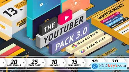 The YouTuber Pack 3.0 - Final Cut Pro X 19539344