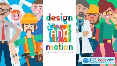 Design and Motion Character Kit V2 20838034