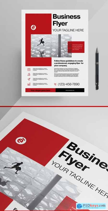 Business Flyer Layout 355220805
