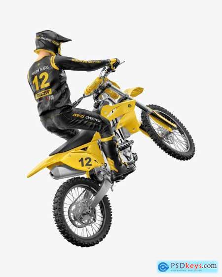 Motocross Racing Kit Mockup 59256