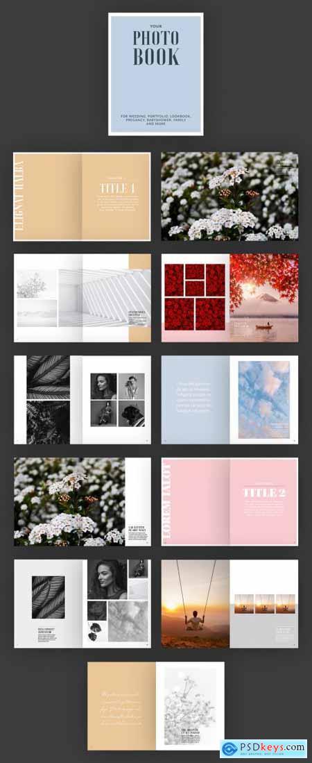 Photo Album Book Layout 355251882