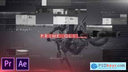 Prime Glitch Intro Premiere Pro 27010886