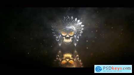Metallic Light Logo Reveal 25910339