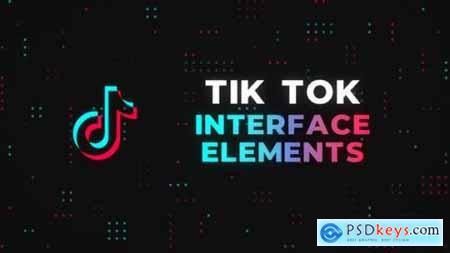 Tik Tok Interface Elements Premiere Pro 27009791