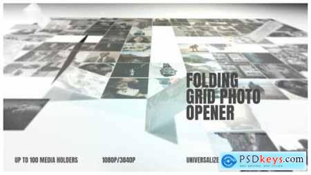 After Effects Folding Photo Grid Opener 25289061
