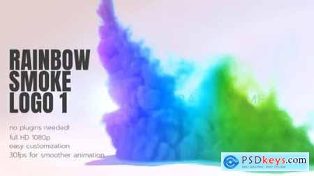 Rainbow Smoke Logo 26502019