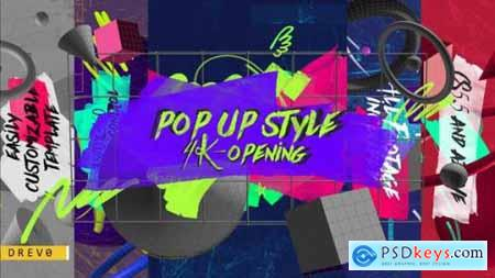 POP UP Style Opening 27031863