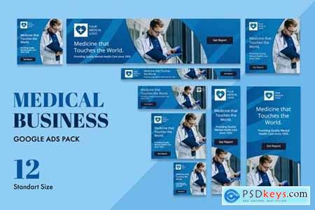 Google Ads Web Banner Medical Business