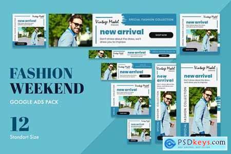 Google Ads Web Banner Fashion Weekend