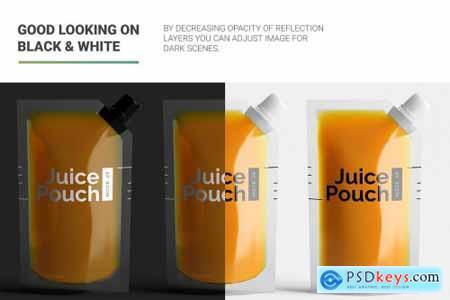 Juice Doypack Pouch Mockup 4880165