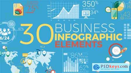 30 Business Infographic Elements 19499622