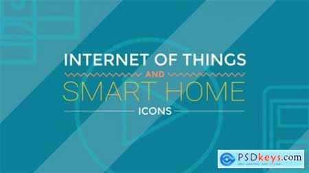 Internet Of Things and Smart Home Icons 19501997